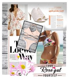 """""""rosegal.com 80"""" by k-lole ❤ liked on Polyvore featuring Loewe, Summer, summertime, women, fashiontrend and styleicon"""