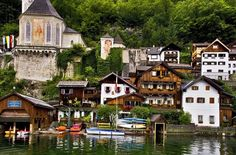 It's the country's oldest — and prettiest — village. Click through for more information on Hallstatt, Austria.