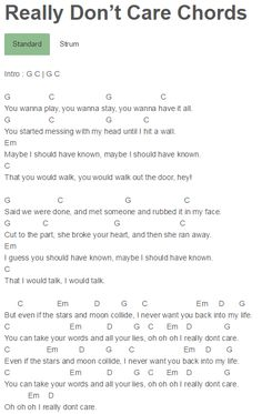 Luxury Demi Lovato Piano Chords Ornament Basic Guitar Chords For