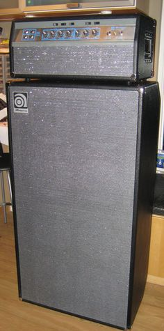 bass!!! the classic Ampeg SVT ... 8x10 cabinet