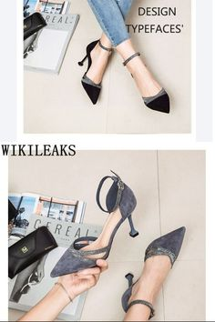 Formal Shoes for Women Black Glitter Heels, Glitter Sandals, Urban Fashion, Womens Fashion, Casual Fall Outfits, Formal Shoes, Women's Summer Fashion, Shoes Heels, Wedges