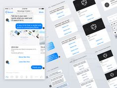 Facebook Messenger UI Kit for Chatbots
