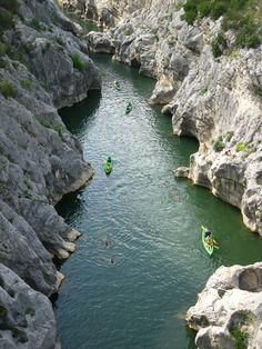 Conoing in the Herault gorge 2013 http://our.travel