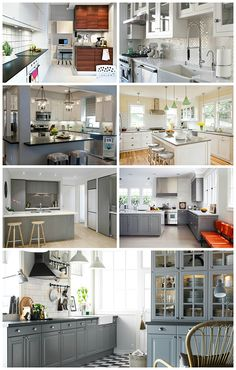Grey is a neutral hue that still adds interest to your kitchen.