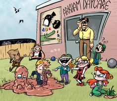Just Another Day In Arkham Daycare