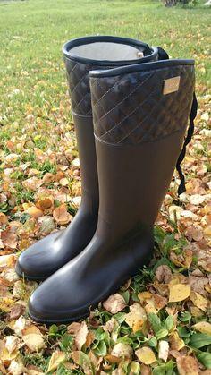 Däv Eve Matte Brown støvler #støvler #gummistøvler #stiligestøvler #høst #mote #regn