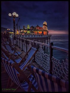 Palace Pier as the sun goes down. Photo taken 17/12/16 by Louise Yates.