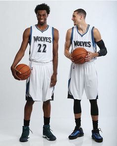 Andrew Wiggins and Zach Lavine Inside The Nba 2f7f25884