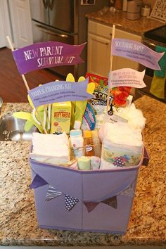 New Mom Survival Kit - one of the better ones I've seen, with ...