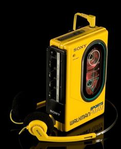 A Sony Walkman has been dubbed as a invention, but it was invented in 1979 (so technically, it's part of the It was a portable music listener, which would later inspire the creation of the iPod. Radios, Sony Electronics, Vhs Cassette, Retro Pop, Hifi Audio, Boombox, Retro Futurism, Audiophile, Vintage Toys