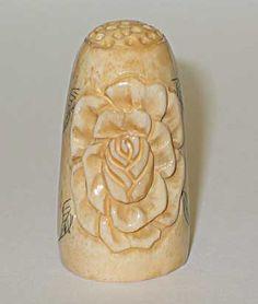 RP: Antique Ceramic Thimble
