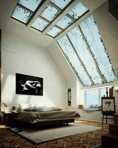 We all know Amazing Home design is really suitable for our Home. You can learn from our article (Modern Bedroom Designs Combined With Minimalist Decor Ideas Looks So Awesome and Luxury) and get some ideas for your Home design. Home Interior, Interior Architecture, Interior And Exterior, Black Architecture, Exterior Design, Futuristisches Design, Loft Design, Design Ideas, Design Inspiration