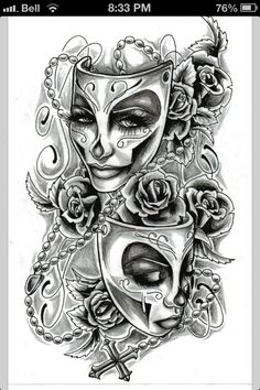 Tattoo for my right forearm .. Not so much background though, and different flowers since i already have roses.
