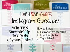 I'm having an Instagram giveaway!