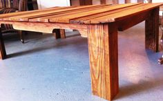 Coffee Table Upcycled from Reclaimed Pallet Wood by FromTheShopCreations