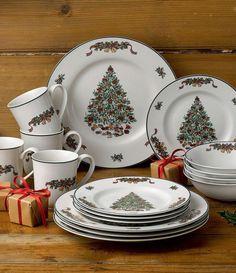 57 beautiful christmas dinnerware sets