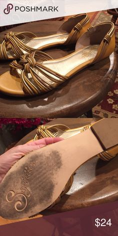 Shoes Very comfy Seychelles mustard/gold flats. Worn only a few times. Seychelles Shoes Flats & Loafers