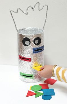 color sorting robot - preschool learning game