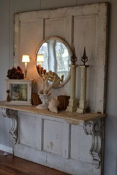 Dishfunctional Designs: New Looks For Old Salvaged Doors: More Repurposed Door Ideas!