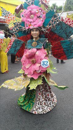 Arak-arakan Pekan Batik Nusantara 2016 Harajuku, Creative, Style, Fashion, Costumes, Moda, La Mode, Fasion, Fashion Models
