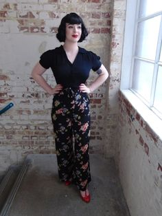 We dedicate our work to Miss Lillian Wells, 'The Seamstress of Bloomsbury', who's love and care, and incredible skill went into every garment she made. Vintage Inspired Fashion, 1940s Fashion, Vintage Fashion, 1940s Dresses, Vintage Dresses, Vintage Outfits, Rockabilly Fashion, Rockabilly Style, Silk Pajamas
