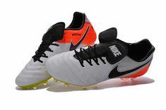 watch 81be3 78c39 Nike Tiempo Legend VI FG 2017 Soccer Boot White Black