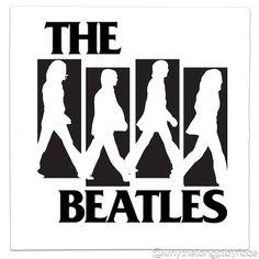 Black Flag Logo The Beatles Abbey Road Mash Up Vinyl Record Art Print Alternative Version Blackflag Henryrollins Tshirt Mashup Photoshop Parody