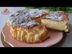 Pokud máte jogurt, připravte si tento super dort! Snadný a levný dort # 423 - YouTube Baking Recipes, Cake Recipes, Bolo Fit, Yogurt Cake, Sandwich Cake, Poke Cakes, Gluten Free Desserts, Coffee Cake, No Bake Cake
