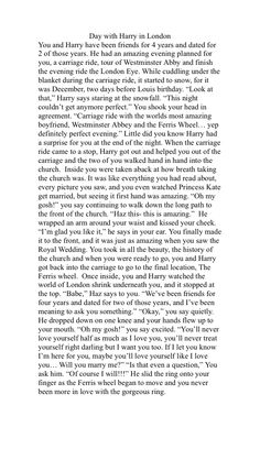 Harry Styles Imagines Fighting He Hits You Harry imagine
