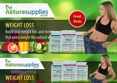Find natural weight loss products to help your body loose those extra pounds