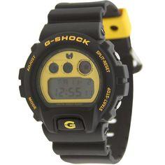 c1fd3987034 Casio G-Shock x Wu Tang Clan 6900 Watch (black   yellow) DW6900FSWTC