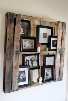 photo - wall - diy - decor - interior Thomas says he can make stuff like this for me :)