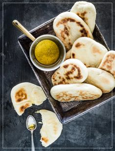 Naan, Ethnic Recipes, Food, Cuisine, Recipe, Breads, Bread Baking, Baked Goods, Food Food