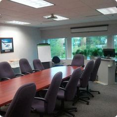 The conference room at our Troy training center.