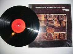 """BLOOD SWEAT & TEARS """"Greatest Hits"""" Columbia Records 33 LP Free S/H USA"""