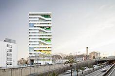 Torre Júlia by Galiana, Vidal, Pons (Barcelona, Spain) #architecture