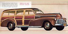 Chevrolet Special Station 1942 Mahagony