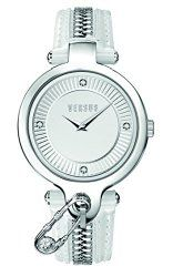 Versus by Versace Women's SOB010014 KEY BISCAYNE Analog Display Quartz White Watch