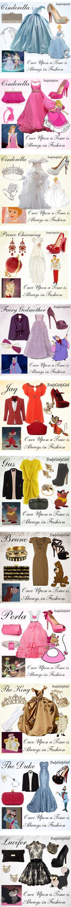 """Disney Style: Cinderella"" by trulygirlygirl ❤ liked on Polyvore"