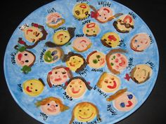Platter Perfect....with each student's individual face.  :)