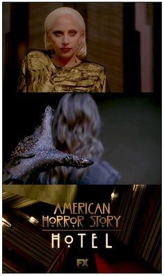 Love her eye makeup! American Horror Story Hotel, American Horror Story Seasons, Fashion Tv, Fashion Ideas, The Countess Ahs, Ahs Characters, Ahs Hotel, Normal People, Evan Peters