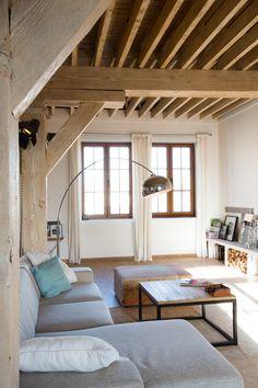 Modern landelijke stijl op pinterest modern landelijk - Deco stijl loft ...