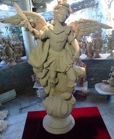 Santos - Atelier do Netinho Esculturas em Cerâmica - Atelier do Netinho Santeiro - Esculturas em Argila