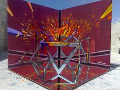 Cet artiste crée des graffitis en 3D d'un réalisme à couper le souffle, qui semblent flotter dans les airs... De quoi retourner un peu le cerveau !