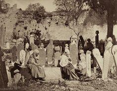 Turkey - Cimetière turc - Guillaume Berggren - circa 1880