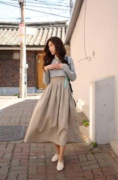 [더고은 생활한복] www.thegoeun.co.kr Korean Traditional Dress, Traditional Fashion, Traditional Dresses, Iranian Women Fashion, Asian Fashion, Girl Fashion, Korean Dress, Korean Outfits, Long Skirt Fashion
