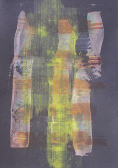 never ever / oil,acrylic,pedrage,cardboard - Petr Chmel