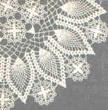 Free crochet patterns for doilies and hundreds of other patterns at Craftown.   This pattern is for a beautiful crown of pineapples doily.