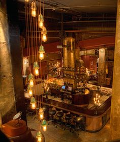 Have drinks at The Edison Speakeasy