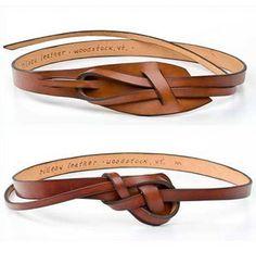 cinturones anudados de {esta es glamoroso}, a través de Flickr